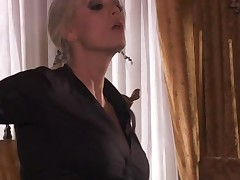 Slut acquires massive ejaculation on face after unforgettable fucking
